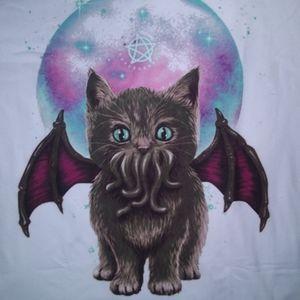 Cat-thulu T-shirt